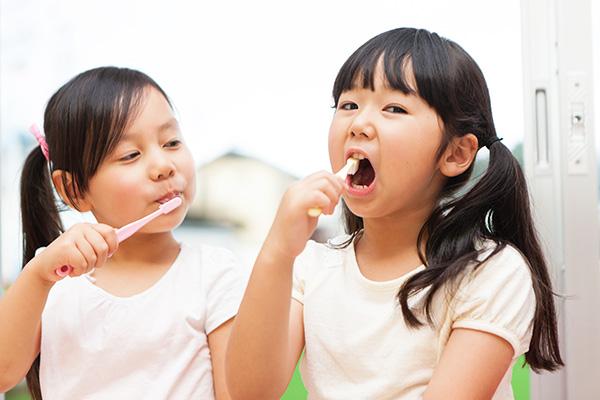 将来のお口の健康・歯並びのことも考えて